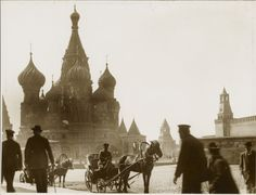 Ethnically Russian people. old photo Imperial Moscow. Pre-revolutionary Russia.