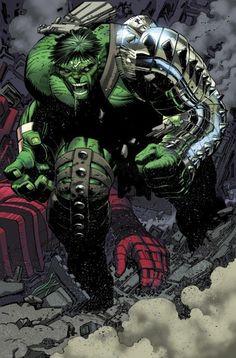 World War Hulk, Hulk smashes Hulkbuster