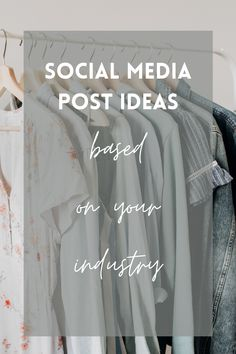 These social media post ideas and content ideas are perfect for your small business and are organized by industry. If you have writer's block and aren't sure what to post about, check these out for inspiration. Perfect for entrepreneurs, businesses, influencers, and creators. | #ContentCreation #ContentIdeas #SocialMediaIdeas #SocialMedia #SmallBusiness Social Media Content, Social Media Tips, Facebook Marketing, Social Media Marketing, Best Time To Post, Writer's Block, Digital Marketing Strategy, Instagram Tips, Pinterest Marketing