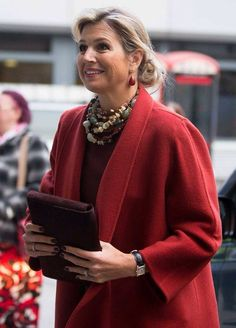 Queen Maxima - she's just SO elegant, no matter what she wears!