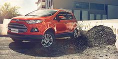 Rough roads, potholes, burst water pipes. In a car you might slow down or go in another direction. In #Ford #Ecosport, you just keep going. #SabarmatiFord