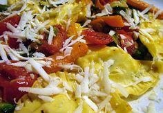 Ravioli di mozzarella con verdure
