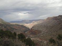 Salt River Canyon Scenic drive - breathtaking