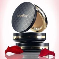 Mirenesse Universal DD Velvet Skin Line Minimising Powder with Rose Flower Oil! #mirenesse, #makeup, #beauty, #new beauty, #love, #powder ,#DD