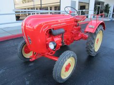 1958  Porsche 108 Tractor (I know, not a car, but this is my board, so deal with it.)