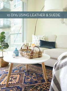 Roundup: 10 Stylish DIY Leather And Suede Projects