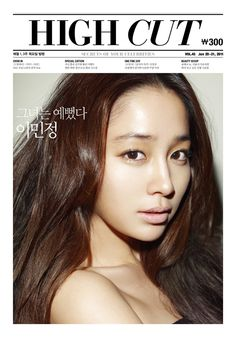 Lee Min Jung on the Cover of High Cut Vol. 45
