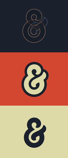Custom Ampersand by Kenny Sing.