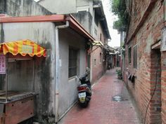 Nine Turns Lane is typical of the narrow curving alleys of Lukang, Taiwan, designed to guard against cold winter winds. Sun Moon Lake, Taiwan Travel, Hong Kong, Asia, Travelling, Design, Cold, Winter, Beautiful