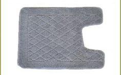 cotton contour bath rug