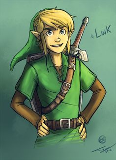 10 characters challenge Day 3: This is Link Day! (watch the stream of it!)