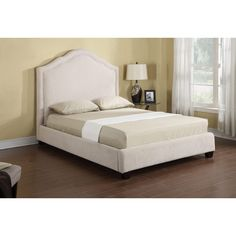 Emerald Home Lilian Upholstered Bed, Size: California King - B105P-13-K