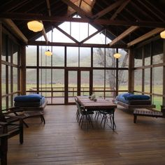 Modern Home screened porches Design Ideas, Pictures, Remodel and Decor