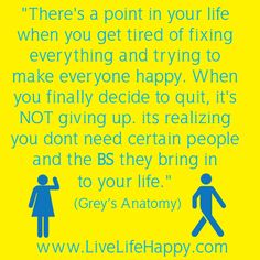 Grey's Anatomy quote - Love this one