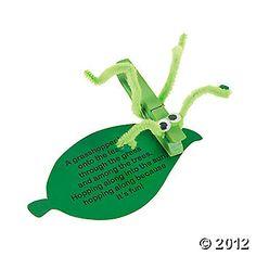 Clothespin grasshopper.