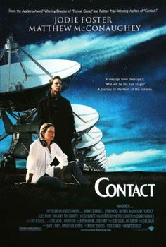 Contact (1997) movie #poster, #tshirt, #mousepad, #movieposters2