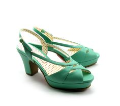 Summer PINUP Sandals with heel (BAIT)