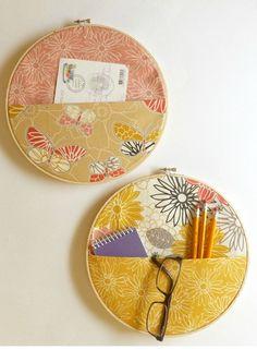 No Sew Notions: Fetching Fabric Wall Storage - J&O Fabrics Store Newsletter Blog