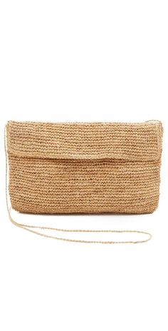 Hat Attack Raffia Clutch | SHOPBOP