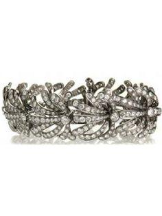 Kimberly McDonald Ornate Diamond Bracelet