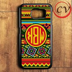 Monogram Samsung Galaxy S6 Case