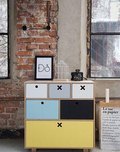 Komoda Kółko i krzyżyk Baby Room, Locker Storage, Diy And Crafts, Shabby Chic, Wood, Home Decor, Design, Furnitures, Amp