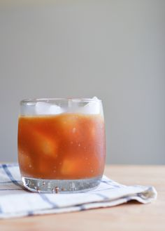 Lemon and ginger beer make this cocktail familiar while the amaro warms it up  @cupcakesandcutlery