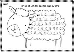 Frog Spot: Spring Lamb Handwriting Freebie Great way to work loops for getting ready for cursive. Pre Writing, Writing Skills, Writing Table, Kids Writing, Classroom Freebies, Classroom Activities, Kindergarten Writing, Literacy, Early Learning