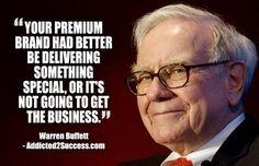 9 Killer Branding Quotes From The World's Top Billionaires Warren Buffett, Business Motivation, Business Quotes, Motivation Success, Entrepreneur Quotes, Business Entrepreneur, Warren Buffet Quotes, Motivational Quotes, Inspirational Quotes
