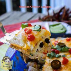 Menu Musings of a Modern American Mom: Easy Mexican Chicken Lasagna