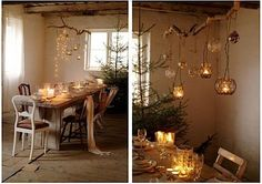 Christmas vintage decor inspiration--like it, not sure how to use it!