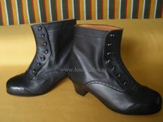 Bota Canaria Sra. Piel Negra Canario, Wedges, Ankle, Shoes, Google, Fashion, Suits, Boots, Over Knee Socks