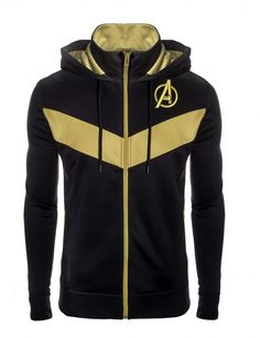 """""""This is the fight of our lives…"""" The brightest minds in the galaxy came together to develop the Avengers: Advanced Tech Hoodie. Sports Hoodies, Cool Hoodies, Marvel Fashion, Mens Fashion, Marvel Mode, Moda Pop, Marvel Clothes, Vw Touran, Fandom Fashion"""