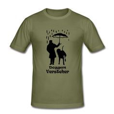 Olive Doggenversteher positiv drei Farben T-Shirt - Männer Slim Fit T-Shirt