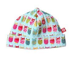 Zutano Print Hat, Owls