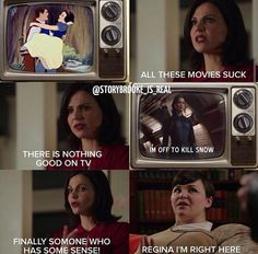 Hahaha funny play on OUAT and Hunger Games. Once Upon A Time Funny, Once Up A Time, Hunger Games Memes, The Hunger Games, Fandoms Unite, Emma Swan, Divergent, Best Tv Shows, Best Shows Ever