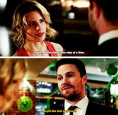 "#Arrow 5x22 ""Missing"" - Felicity and Oliver"