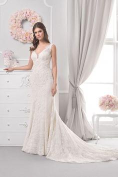 18064T - Agnes Bridal Dream 2019 - Wedding dresses - Agnes - lace wedding dresses, Plus Size Bridal Gowns Most Beautiful Wedding Dresses, Modest Wedding Dresses, Lace Wedding, Our Wedding, Bridal Salon, Bridal Boutique, Bridal Collection, Bridal Gowns, Bride