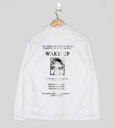 Obey Wake Up Coach Jacket | Size?