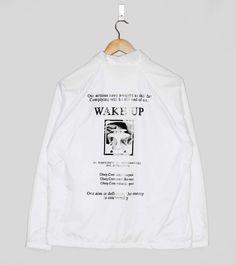 Obey Wake Up Coach Jacket   Size?
