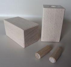 Set-2-Stueck-Vierkantfuss-Schrankfuss-Komodenfuss-Moebelfuss-Holz-Kiefer-Buche