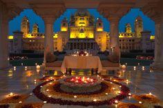 Palácio Umaid Bhawan requinte na sua arquitetura e decoração | #Arquitetura, #Jmj, #LugaresDoMundo, #PalácioUmaidBhawan, #UmaidBhawan