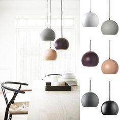 Frandsen Ball Pendel Matt - Innebelysning | Designbelysning.no