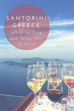Wine tastings, check. Secluded sunset spots, check. Private Jacuzzis, check. Santorini has it all - but do it the right way! Here's some tips. | Santorini tips | Best Greek Islands | Luxury Greece | Santorini travel
