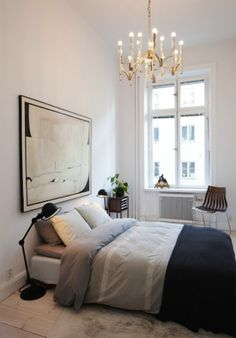 black-gray-and-white-bedroom