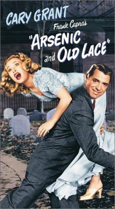 Arsenic And Old Lace - 1944 - Cary Grant, Priscilla Lane, Raymond Massey, Peter Lorre Old Movie Posters, Classic Movie Posters, Classic Movies, Film Posters, Cary Grant, Cinema Paradisio, Love Movie, Movie Tv, Emmanuelle Béart
