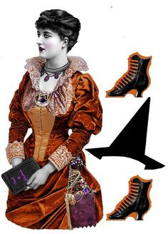 witch paper doll | Flickr - Photo Sharing!