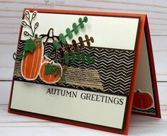 Image result for stampin up pick a pumpkin card ideas