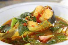 Indonesianfoodculture's: Pindang Ikan Baung Fish Recipes, Seafood Recipes, Asian Recipes, Cooking Recipes, Ethnic Recipes, Mie Goreng, Malay Food, Good Food, Yummy Food