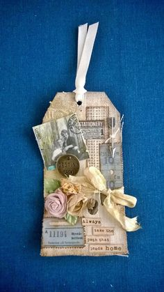 Tim Holtz's tags of 2015~! My take on May 2015 #12Tags2015